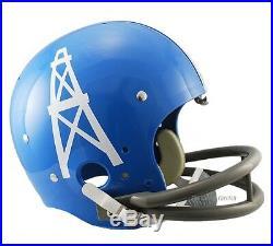 Houston Oilers 60-62 Tk Throwback Full Size Football Helmet