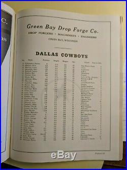 Ice Bowl Program Green Bay Packers vs. Dallas Cowboys 12/31/67 Bart Starr