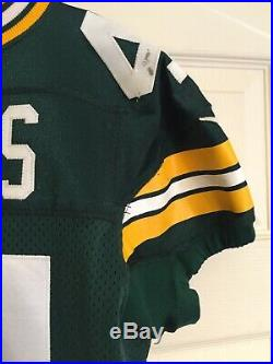 James Starks Green Bay Packers Game Used Worn Jersey NFL/PSA COA Unwashed Rare