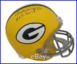 Jerry Kramer Autographed/Signed Green Bay Packers Replica Helmet HOF JSA 21622