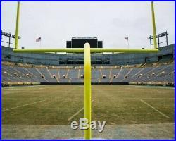 Lambeau Field Packers Game Used Goal Post Crossbar NFL Football Goalpost