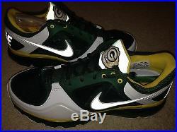 Nike Air Max Green Bay Packers Championship PE Sz 11 Rare Promo Sample