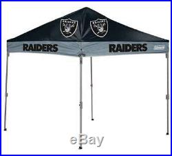 Oakland Raiders 10 X 10 Canopy Tailgate Tent