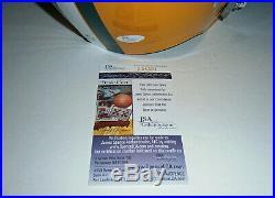 PACKERS Bart Starr signed TK F/S helmet with HOF 77 JSA COA AUTO Autographed MINT