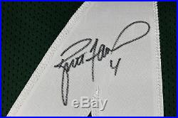 Packers Brett Favre Authentic Signed Green Jersey with Favre Hologram & COA