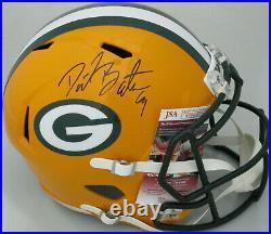 Packers DAVID BAKHTIARI Signed Full Size Riddell Speed Replica Helmet AUTO JSA