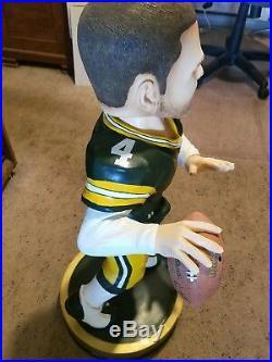 RARE Brett Favre Green Bay Packers 3 foot Bobblehead-Legends of The Field #6/100