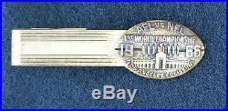 Super Bowl I Press Pin 1 1966 First Super Bowl Green Bay Packers Balfour Box