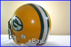 Vtg 1980s GREEN BAY PACKERS #40 Game Used Worn Riddell AF2 Football Helmet