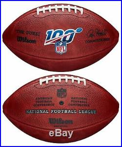 Wilson NFL 100 The Duke Official NFL Leather Football New in Retail Box